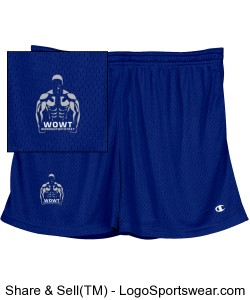 Champion Ladies' Mesh Shorts Design Zoom