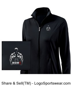 Women's Fitness Jacket by Charles River Apparel Design Zoom